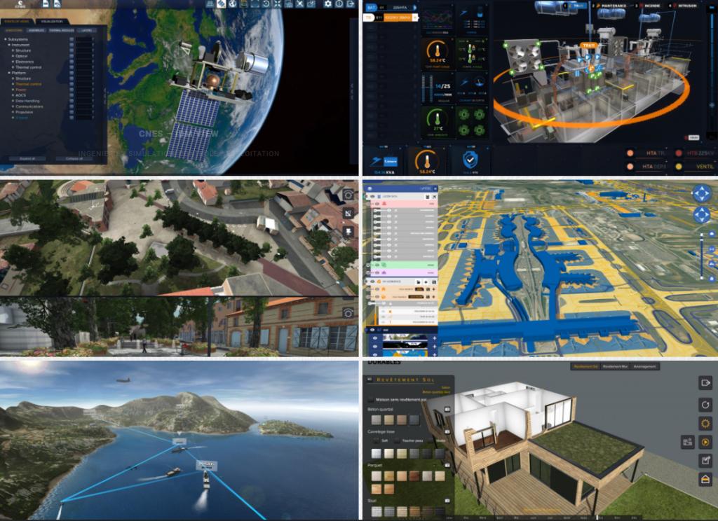 Illustration du travail de la société Virtual IT